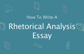 how to write a rhetorical analysis paper