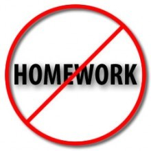 homework should be banned