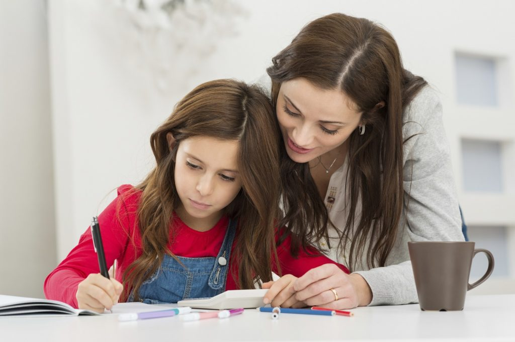 help child with homework