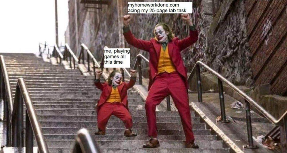 joker-homework-memes
