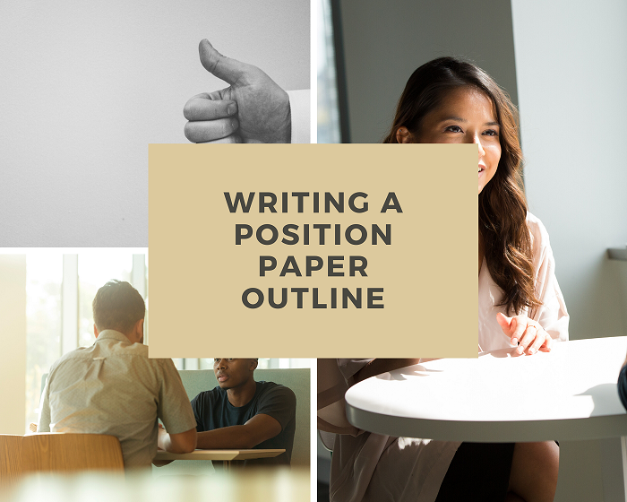 Position paper outline