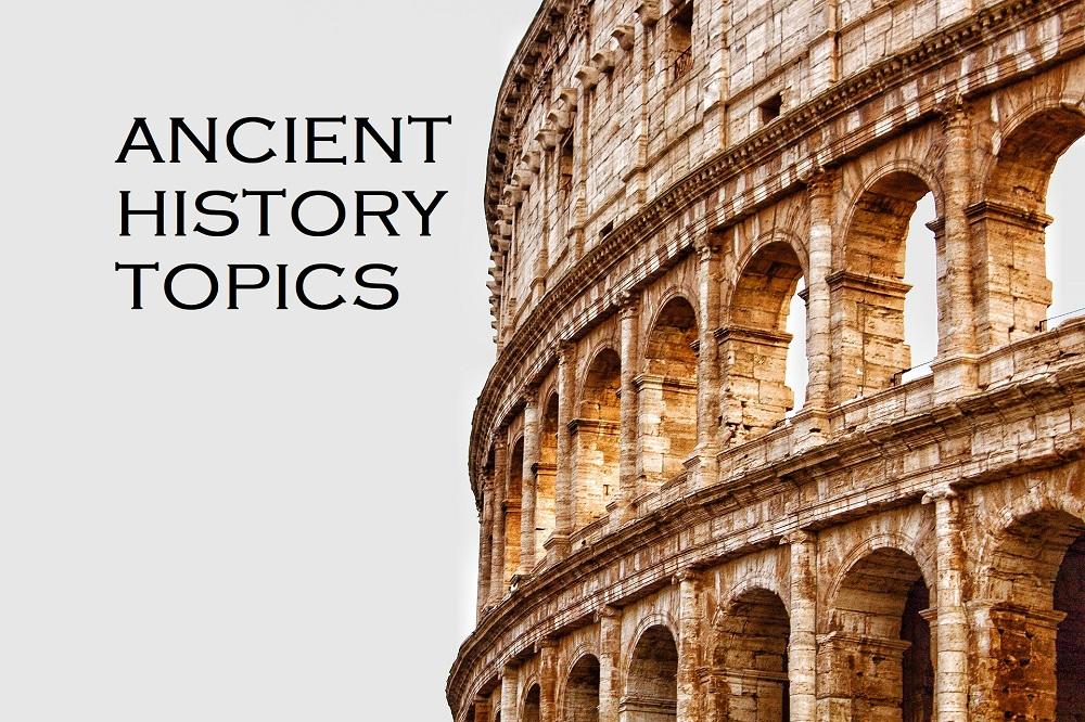 ancient history topics
